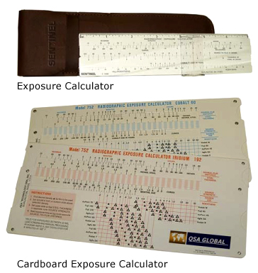 Exposure Calculators